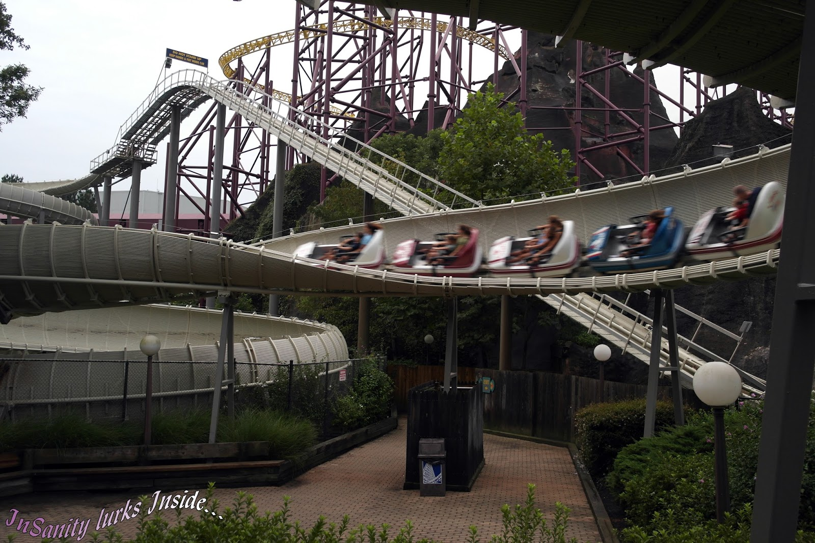 InSanity lurks Inside: Park Review- Kings Dominion