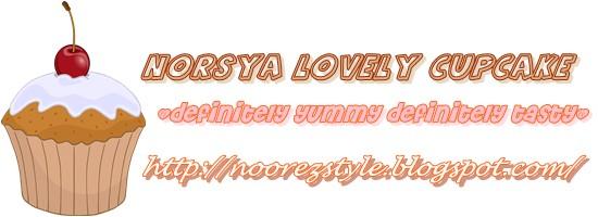 NORSYA LOVELY CUPCAKE