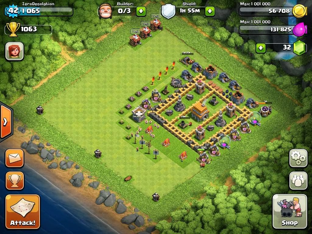 Best Clash of Clans Town Hall Level 6