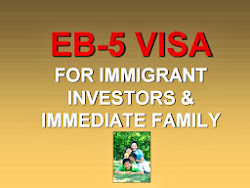 A $500,000 INVESTMENT ALLOWS YOU TO IMMIGRATE ALONG WITH...