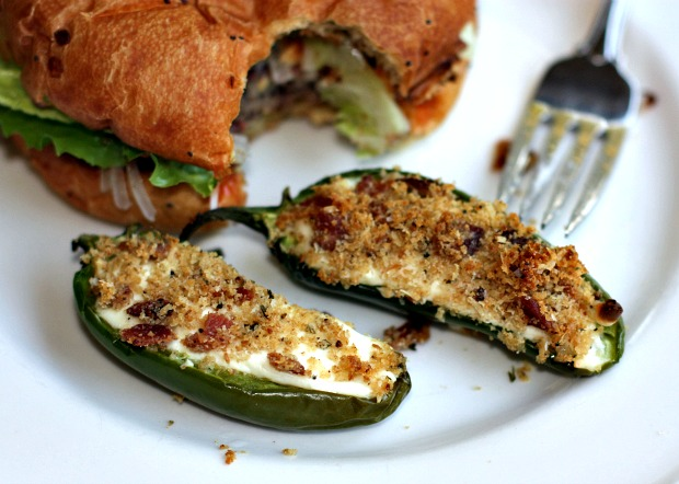 Recipes For Divine Living: Baked Panko Crusted Jalapeno Poppers