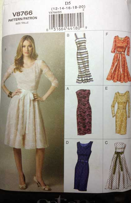Wedding Dress Sewing Pattern