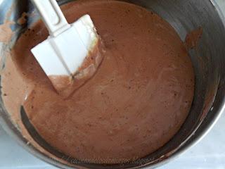 torta de mousse de chocolate y dulce de leche
