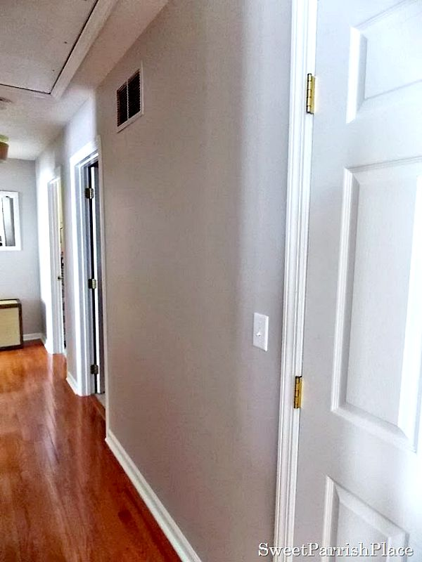 Painted Hallway And Gallery Walls Reveal Sweet Parrish Place