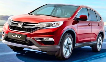 Honda New CR-V Terbaru 2015