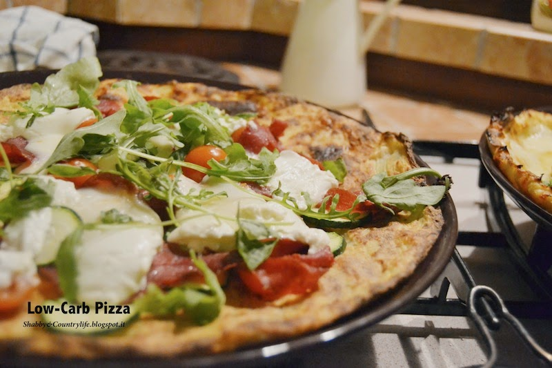W la Pizza { Low- Carb Pizza salva linea } - Shabby&Countrylife.blogspot.it