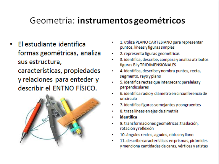 GEOMETRÍA: estructura, caracteristicas y propiedades