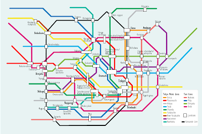 Tokyo Metro Map Pictures