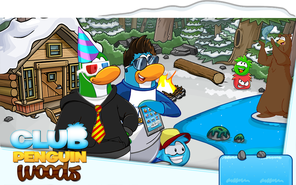 Club Penguin Woods