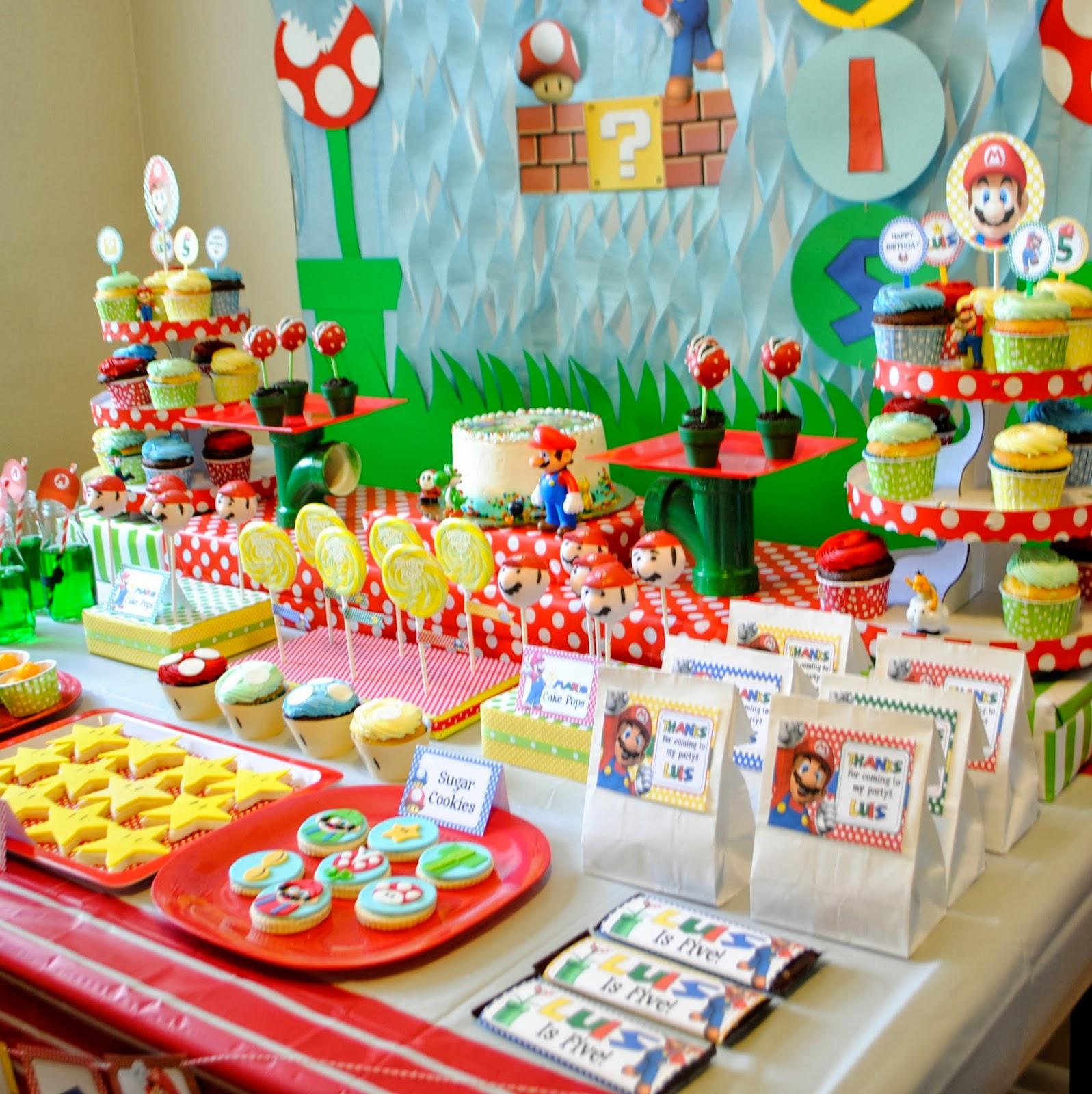 Karo's Fun Land: Super Mario Fifth Birthday Party