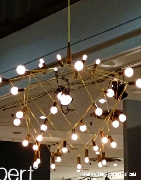 The fixture wasnu0027t this blurry in real life I promise. & i heart interiors: Patrick Townsend Lighting