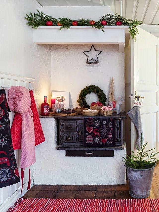 navidad decoración rustica