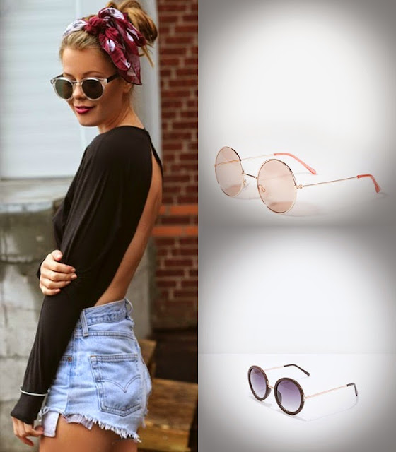 Peças moda tendencia verão 2015 oculos stradivarius