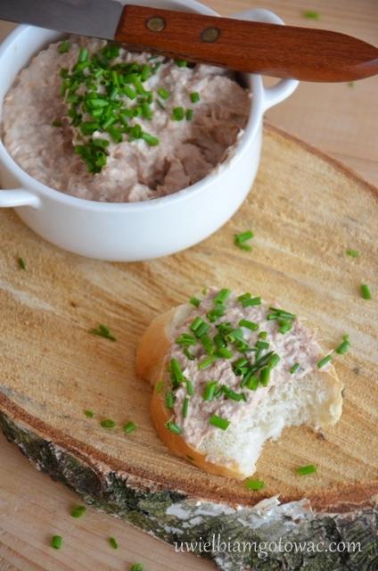 Chrzanowa pasta z z tuńczyka