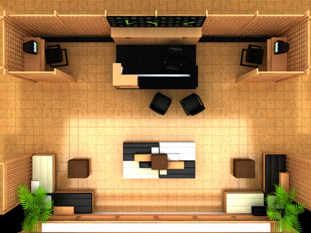 Palco Hotels VIP Area Interior Design As Project Manager Hand Sketching And Field Measuring AutoCAD Drafting 3Dmax Modelling Texturing