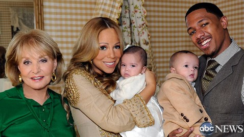 Mariah Carey And Nick Cannon Debut Their Twins Morrocan & Monroe To The World (VIDEO +PHOTOS)
