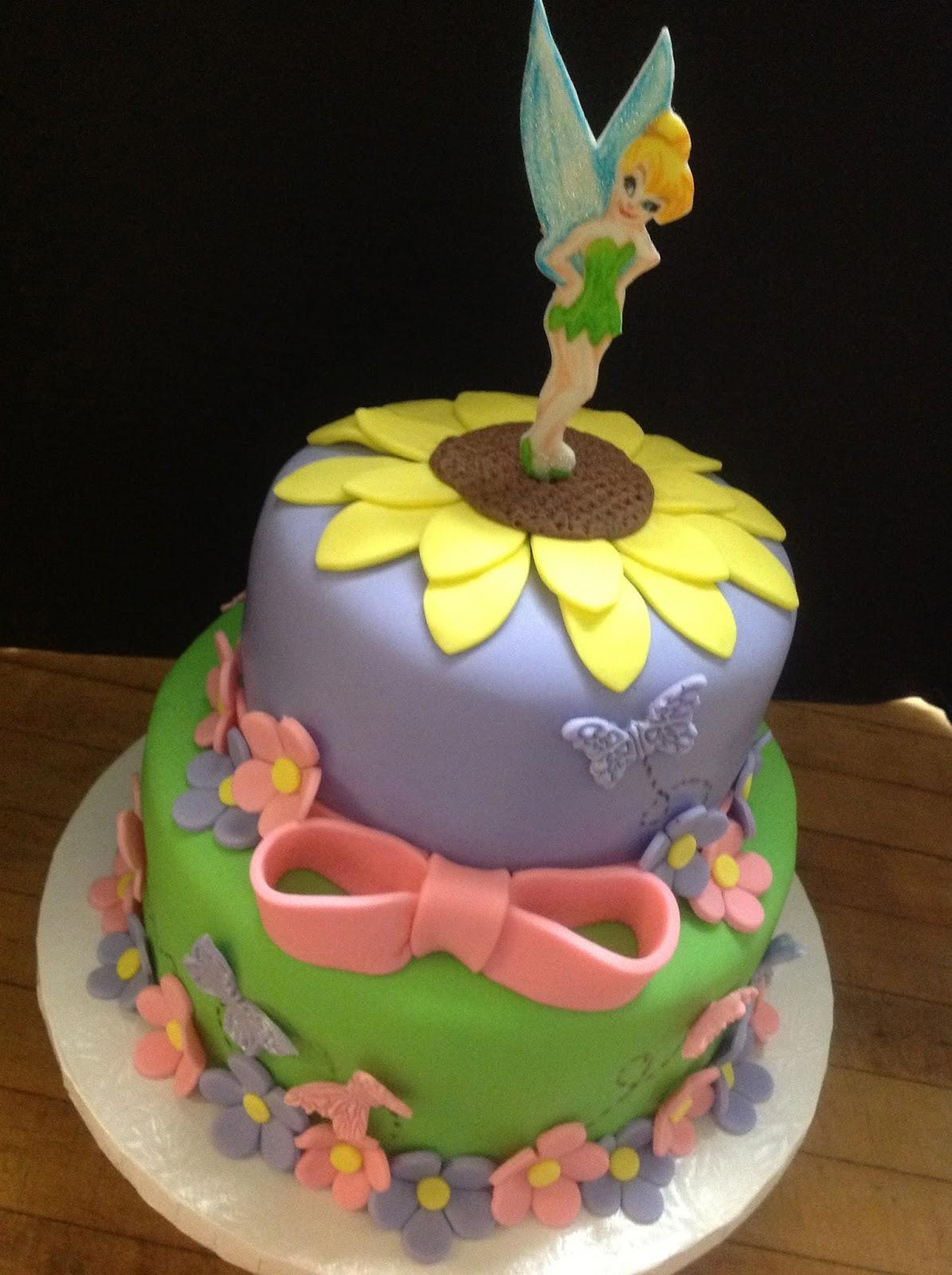 Plumeria Cake Studio: Tinkerbell Birthday Cake