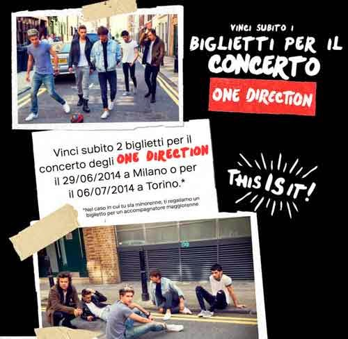 concerti one direction