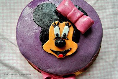 Tort z klasyczną Myszką Minnie