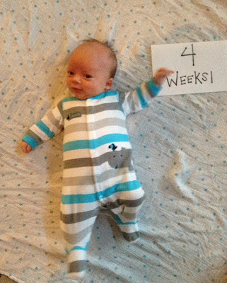 Eat.Pray.Love.Run.: Baby Talk: Connor- 1 Month