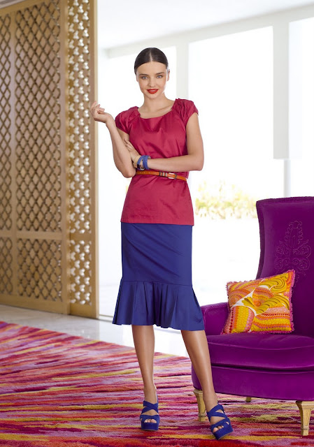 Miranda Kerr David Jones Catalogue HQ