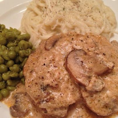 staceys stove smothered pork chops