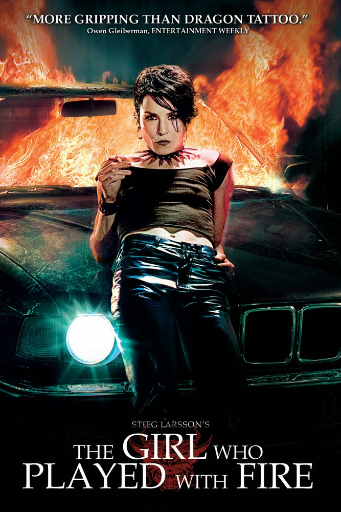 Poster Of The Girl Who Played with Fire 2009 In Hindi Bluray 720P Free Download