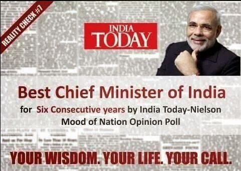 Modi: The best CM