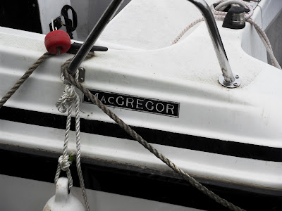 Boat called MacGregor at Christchurch