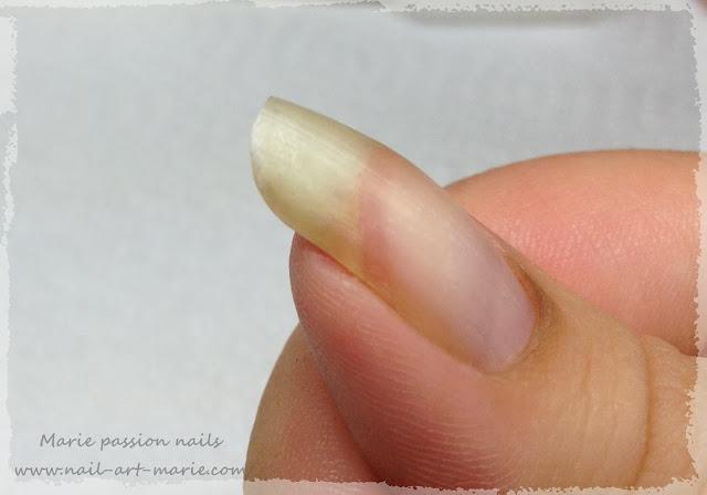 Reconstruire un morceau d'ongle cassé3