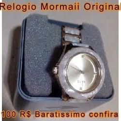 RELOGIO MORMAII ORIGINAL BARATO