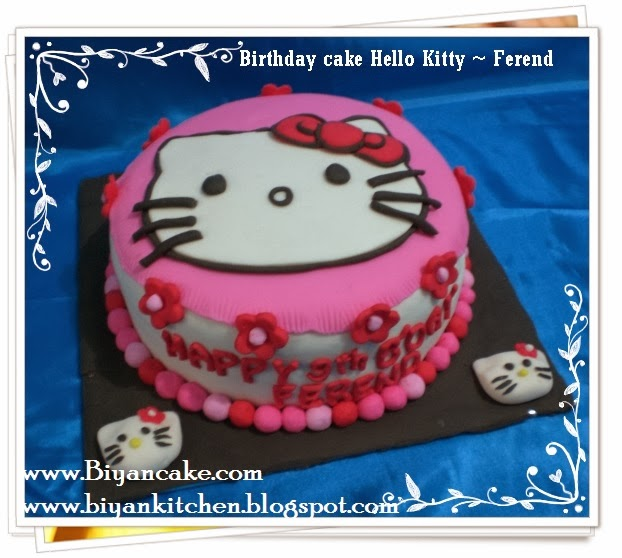 Kue tart Hello Kitty ~ Ferend