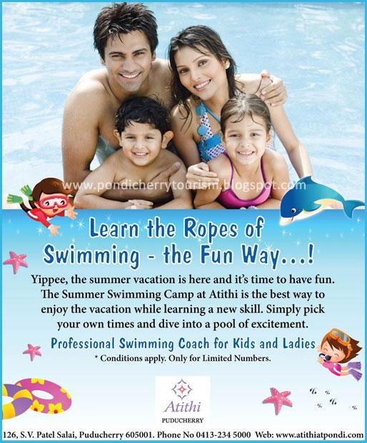 Summer Swimming Camp @ Hotel Atithi