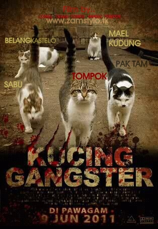 Kucing Gangster Di Pawagam