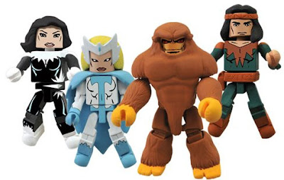New York Comic-Con 2012 Exclusive Alpha Flight Marvel Minimates Box Set #2 - Aurora, Snowbird, Sasquatch & Talisman