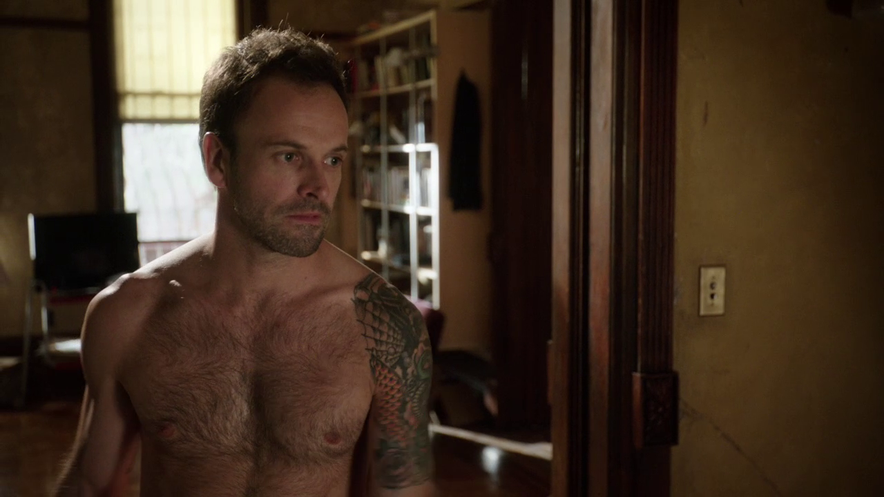 Jonny lee miller shirtless