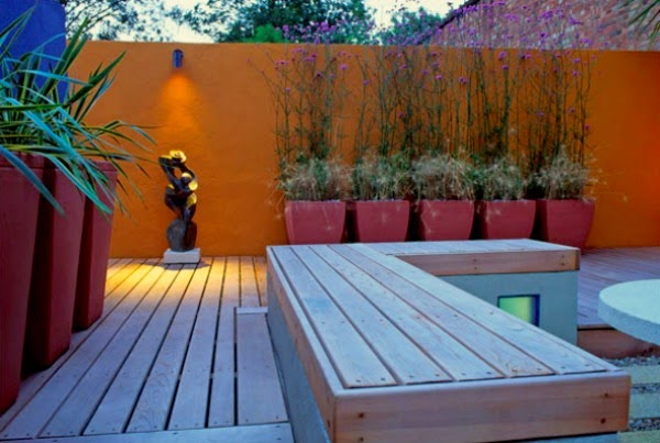 Creativo interior Patio Jardin