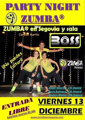 PARTY NIGHT ZUMBA _ZUMBA en Segovia