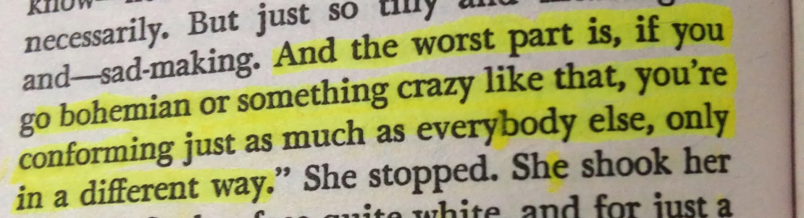 highlighted quote from j.d salinger's franny and zooey