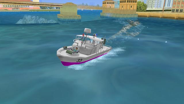 Patrol Boat River Mark 2 GTA Vice City
