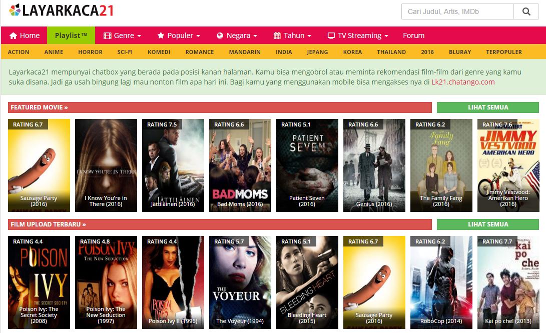 Nonton Movie Streaming Bioskop Online Film Subtitle Indonesia