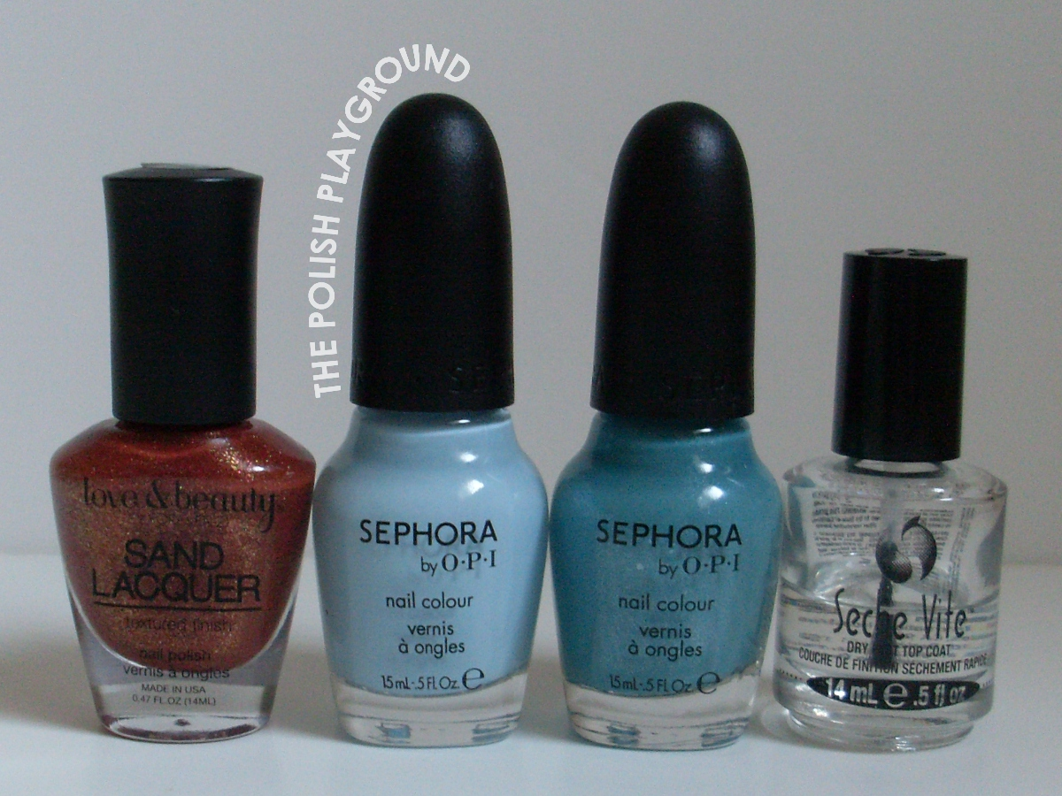 Love & Beauty, Sephora by OPI, Seche Vite