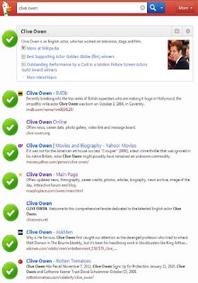 DuckDuckGo search for Clive Owen