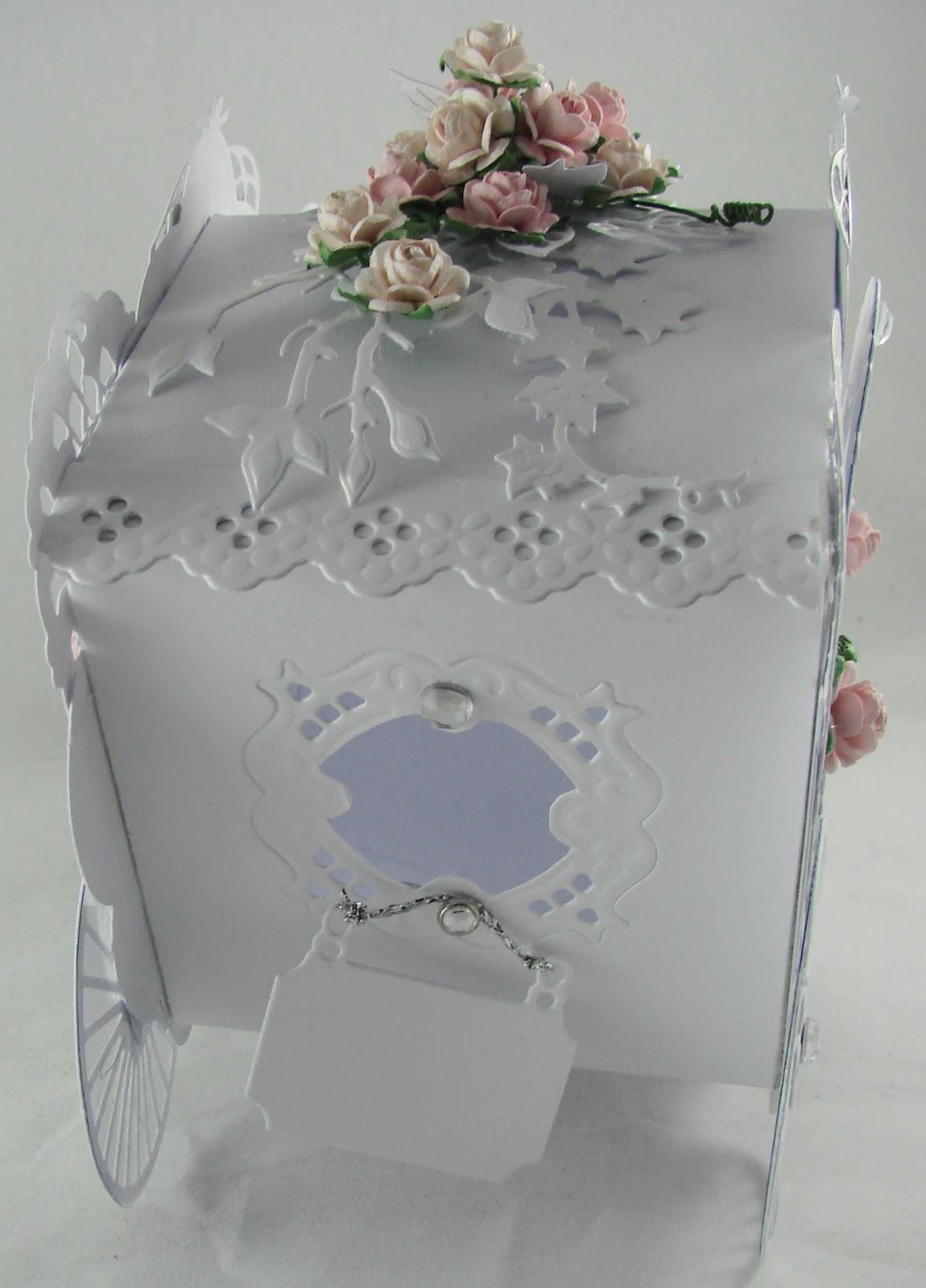 Schöne Sachen handgemacht Designblog: Hochzeitskutsche ganz in weiß ...