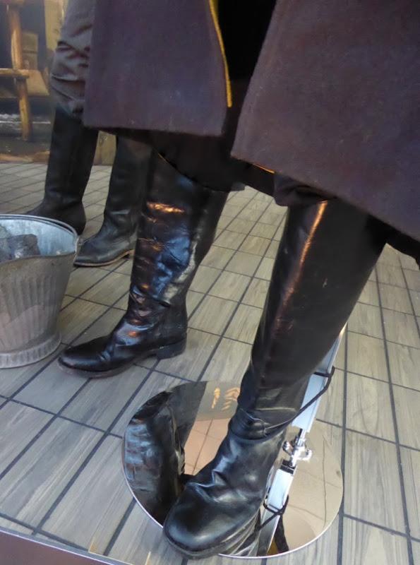 Hateful Eight Major Marquis Warren costume boots
