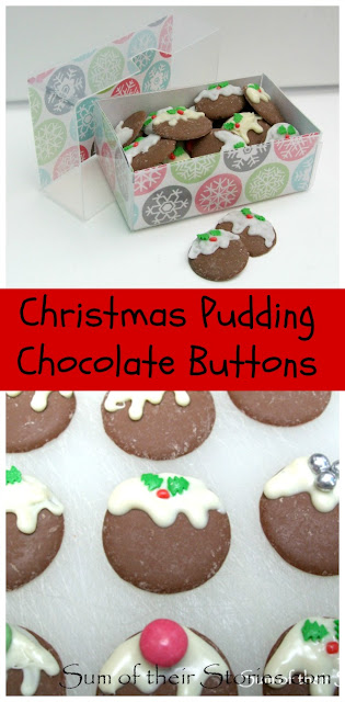 Chocolate button Christmas treats