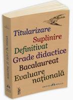 Subiecte, variante si rezolvari pentru examene nationale: titularizare, definitivat, grade didactice, bacalaureat, evaluare nationala