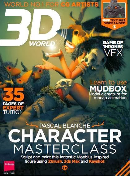3D World Magazine March 2014