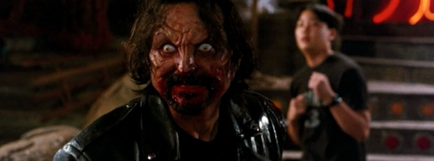 Tom Savini vampire in From Dusk Till Dawn