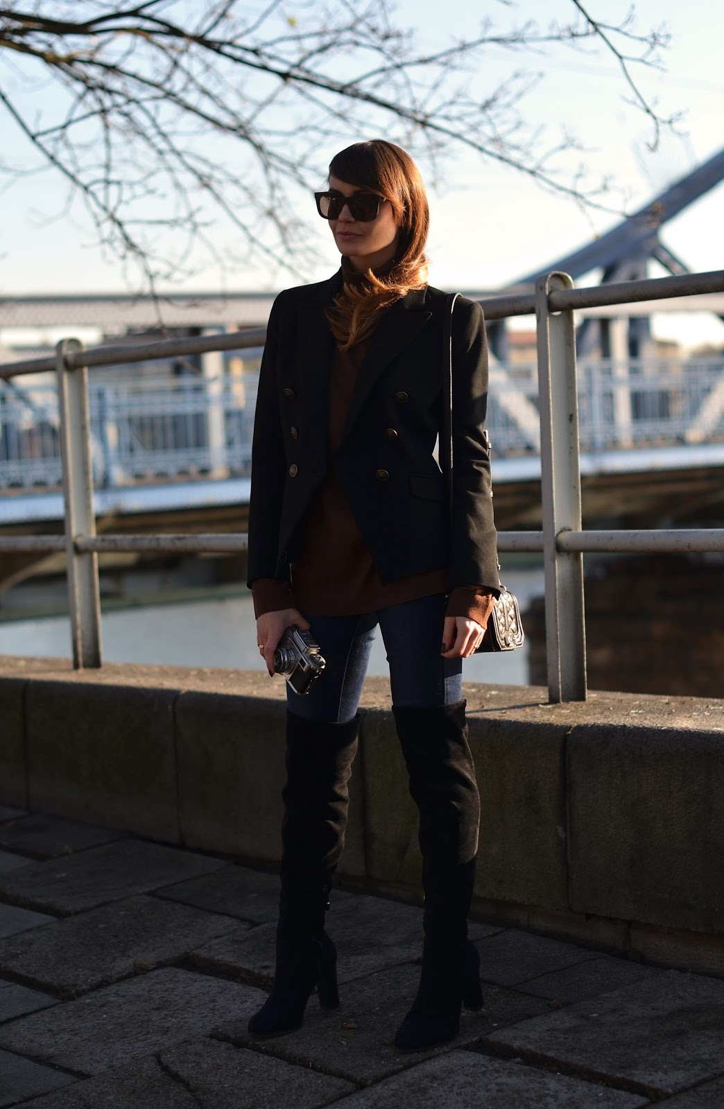 buty za kolano | blogerka modowa